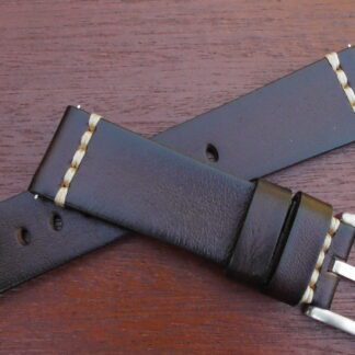 flaxton brown leather band