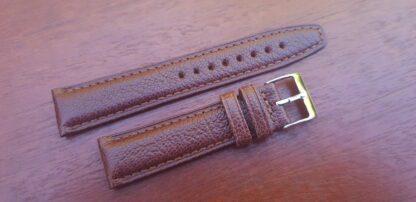 light brown goatskin watch band