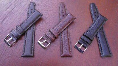 all colours of goat skin straps