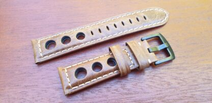 conondale rally band light brown black buckle