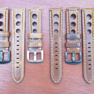 conondale rally racing leather straps all colours