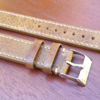 glenview distressed leather watch band