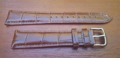 extra long brown leather strap
