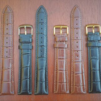 extra long leather watch strap