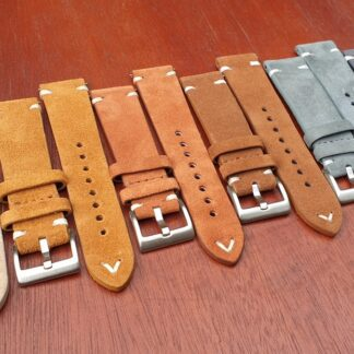 suede leather watch bands all colours
